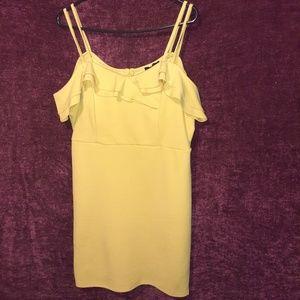 ○|Mustard Yellow Causal Dress|○